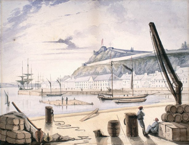 King's Wharf Quebec 1827