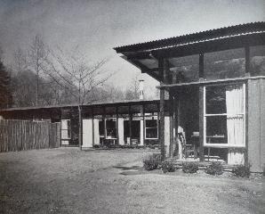 John Grisdale's house in Delaware, 1949